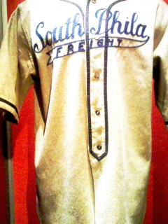 I can TOTALLY see our Philly rap stars rockin' a replica of this Negro League team jersey...