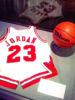yes, Jordan's uniform is there.  You'll go just for that...